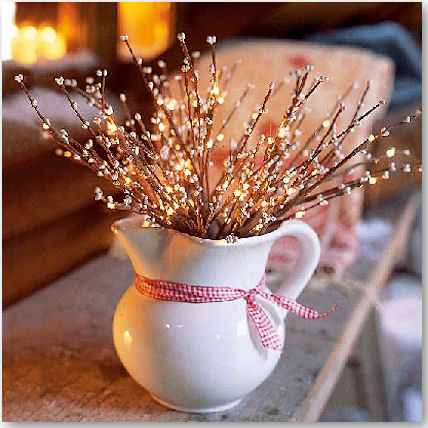 weihnachtliche Leuchtzweige - © impressionen.de