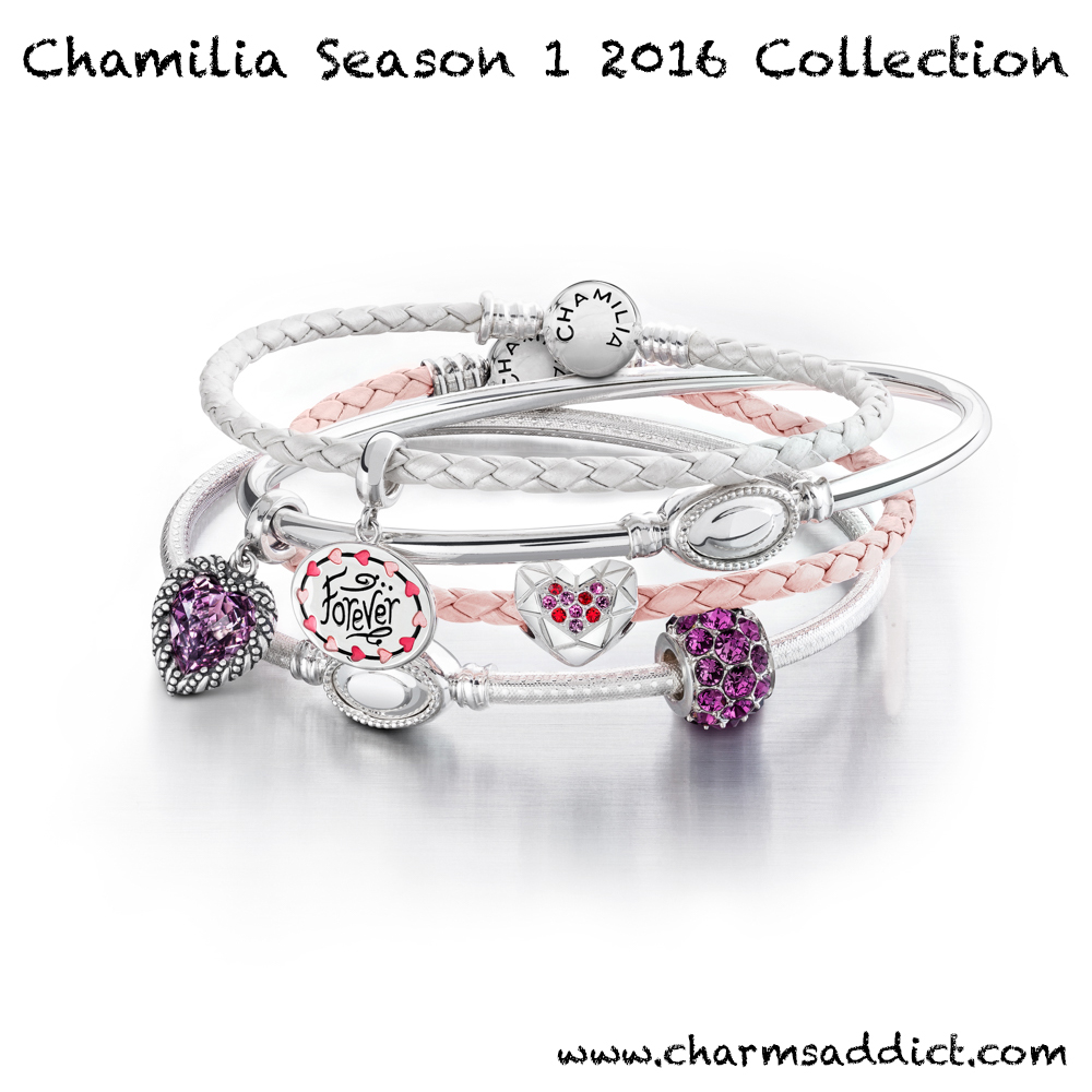 Chamilia Valentines Day Season 1 2016 Collection