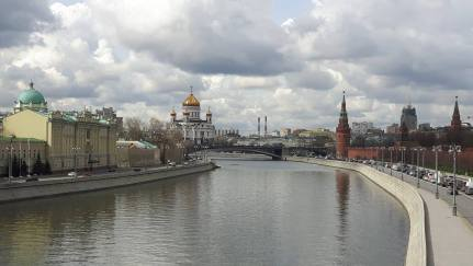 Citytrips in Europe- moskva river