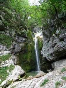Mostnica Waterfall Slovenia photo