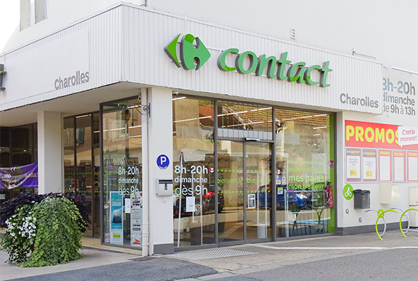 carrefour contact charolles