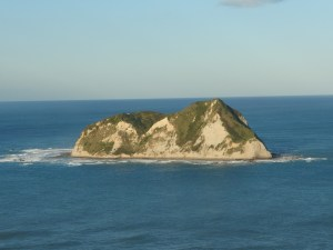 the island off the east cape