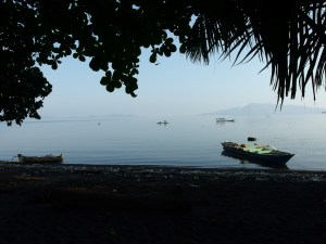 View over the bay at early morning