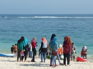 I must admit, I am puzzled by what the appeal of the beach for these girls is