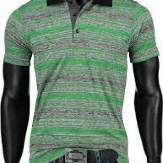 BlackRock trendy heren polo T-Shirt