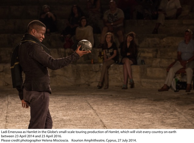 Hamlet at Kourion Amphitheatre, Cyprus_5 July 2014 © 2014 Helena Miscioscia