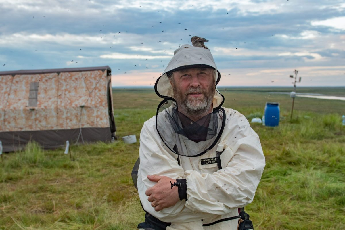 Research Professor Bruce Forbes, Yamal Fieldwork 2019. Photo Jeff Kirby