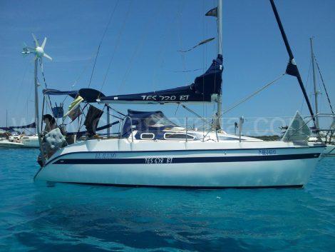 Aluguer barco à vela ibiza formentera
