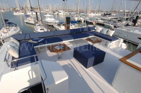 Telhado do Flybridge Victoria 67 Ilhas Baleares