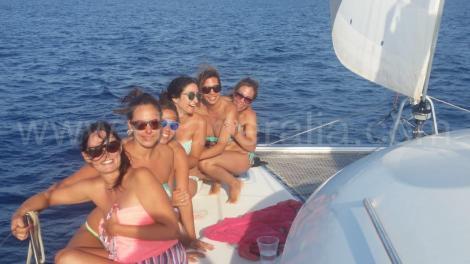 barco charter para Ibiza Bachelorette
