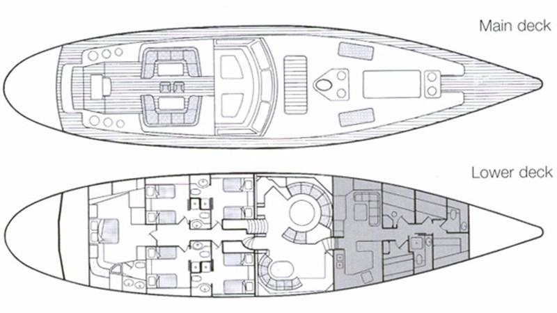 Luxury charter yacht REE   Cantiere Valdettaro   Sailing
