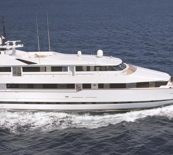 All New 55m Superyacht CRN 134 To Be Launched In Less Than