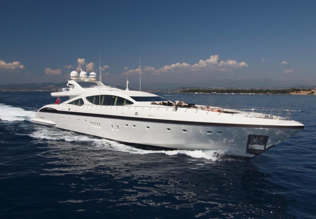 Yacht SALVAJE Overmarine Mangusta Rodriguez Group