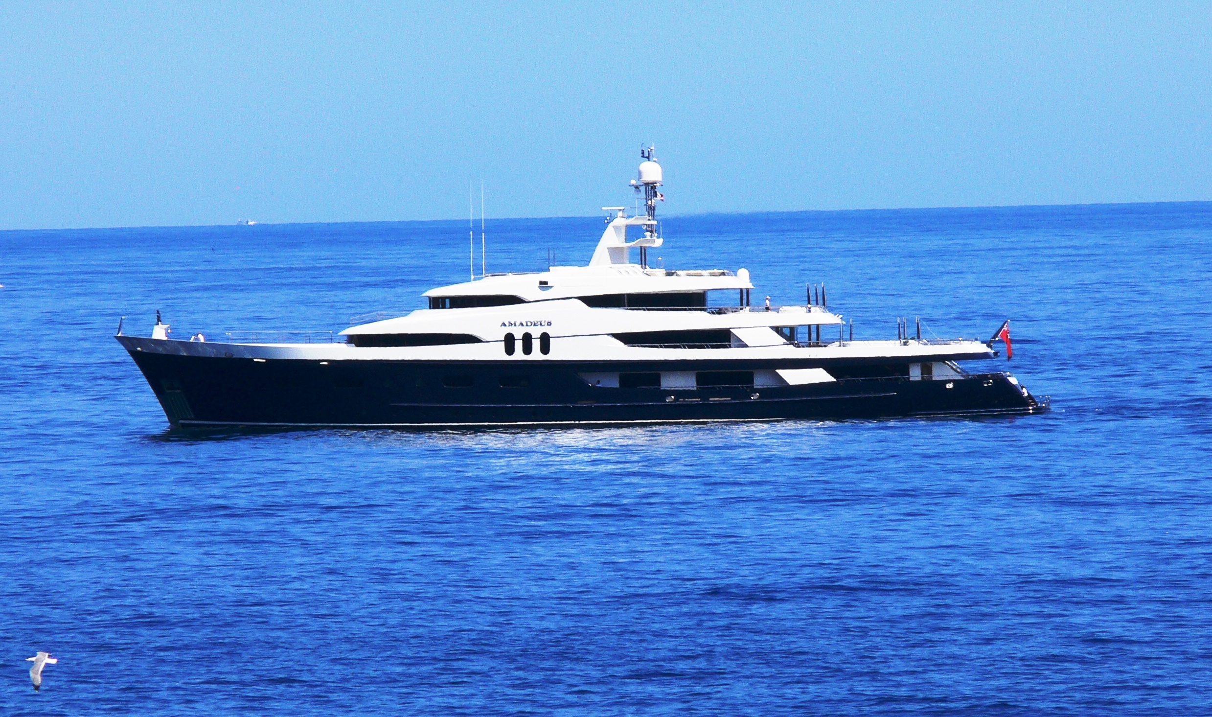 Yacht AMADEUS Jadewerft CHARTERWORLD Luxury Superyacht