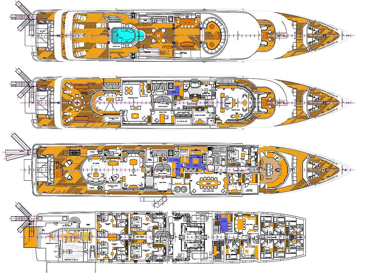 Oceanco Unveils More Details About 107m Motor Yacht