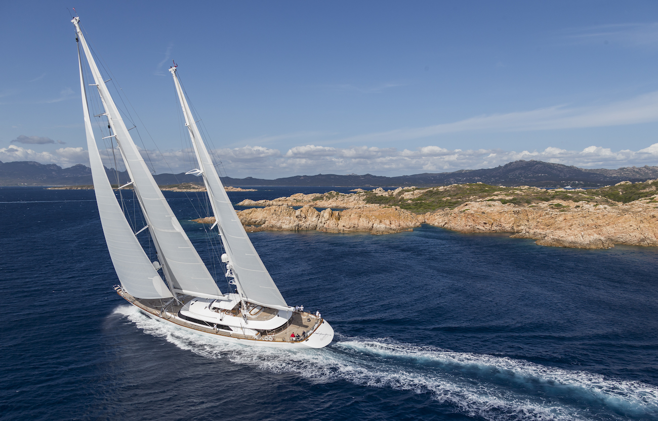 ROSEHEARTY Yacht Charter Details Perini Navi Luxury Yacht Charter CHARTERWORLD Luxury Superyachts
