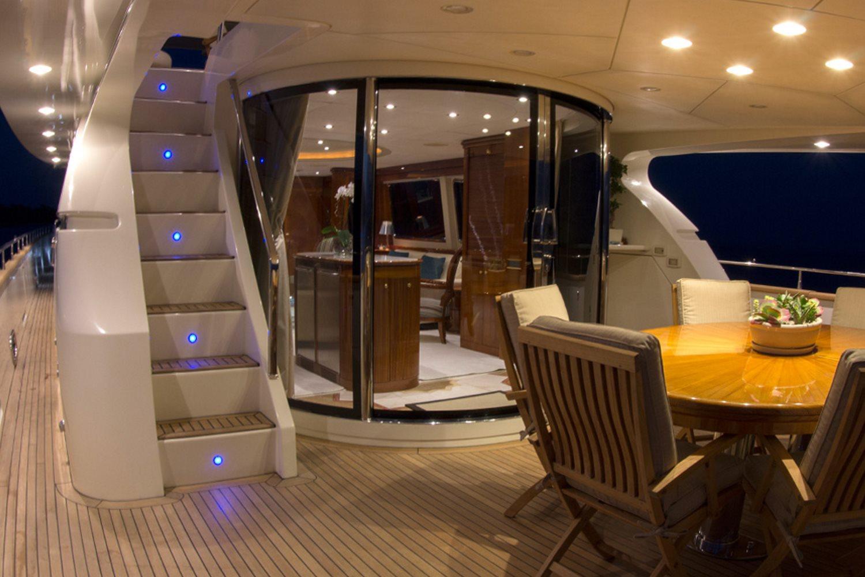 CRISTALES Yacht Charter Details Azimut 100 Jumbo