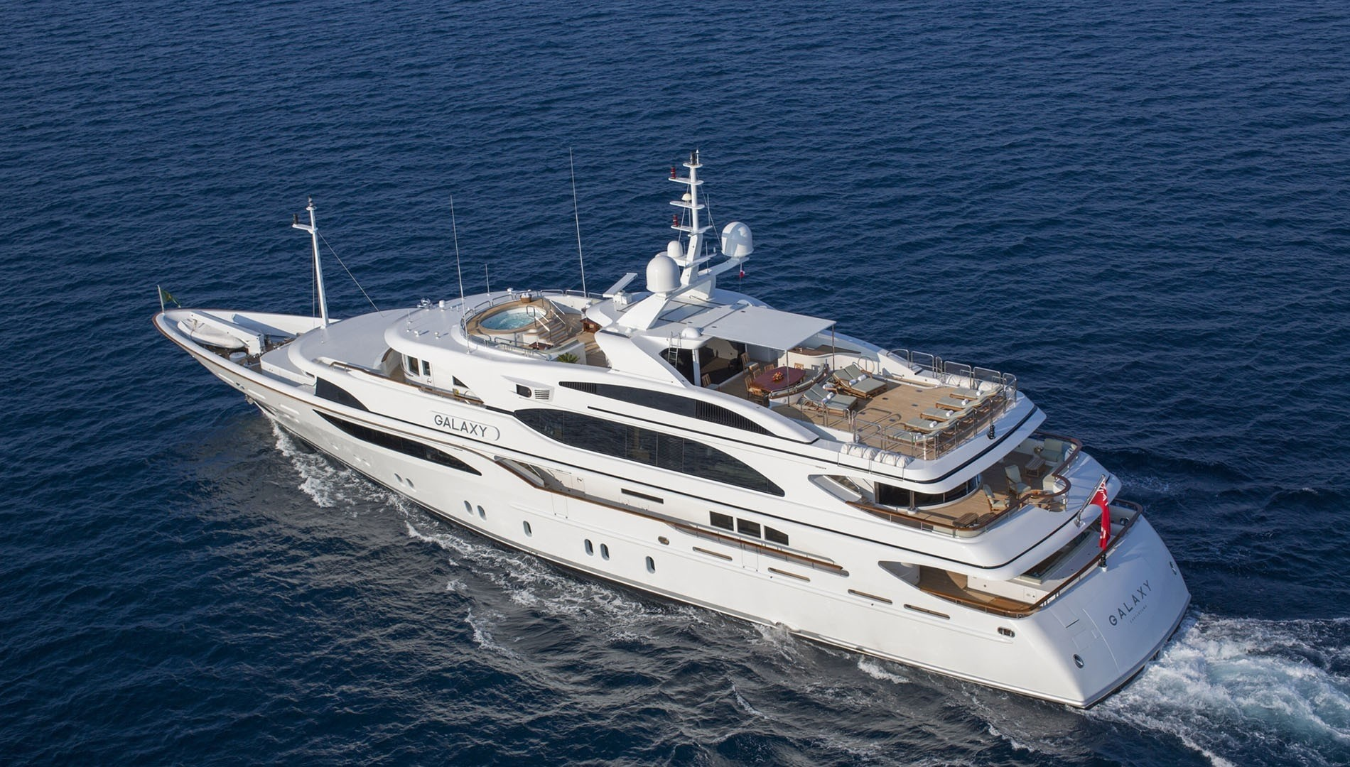 Yacht GALAXY Benetti Yachts CHARTERWORLD Luxury