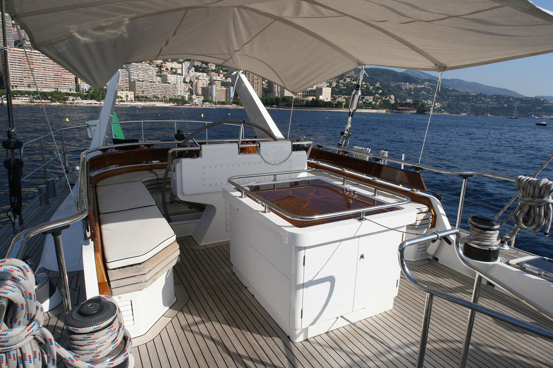 Majestic 34m Sailing Yacht PIAFFE II By JONGERT In Altea