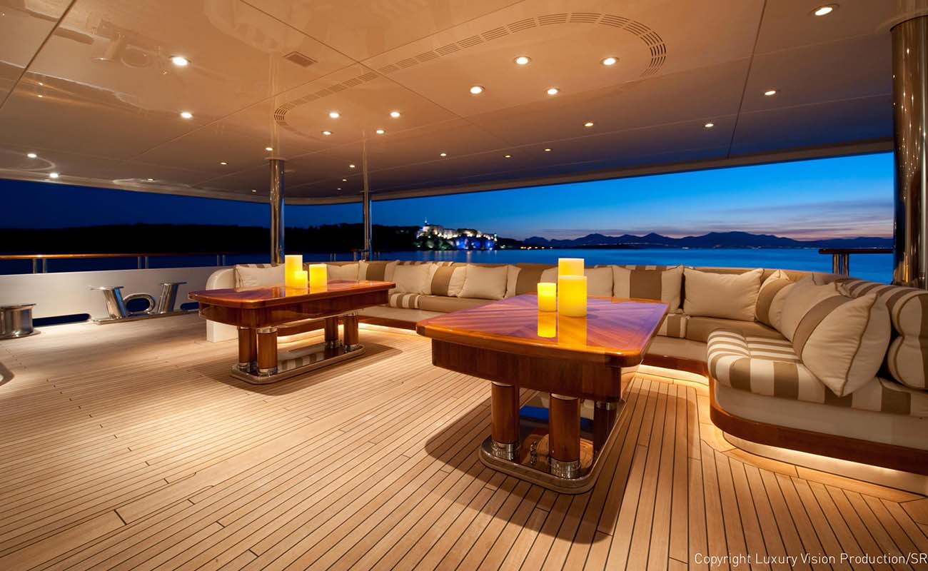 Deck Lounge Image Gallery Luxury Yacht Browser By