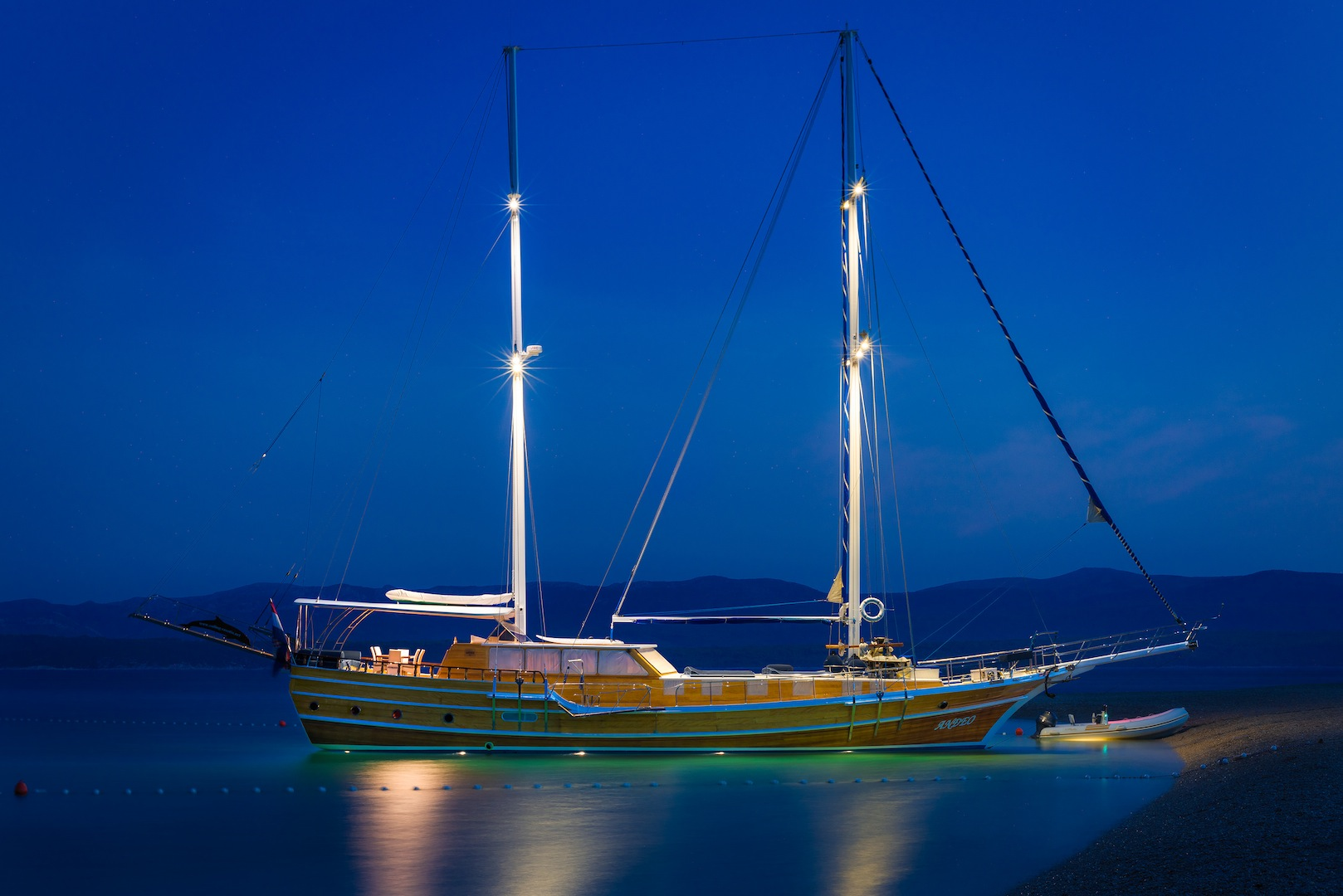 ANDEO Yacht Charter Details Luxury Croatian Gulet