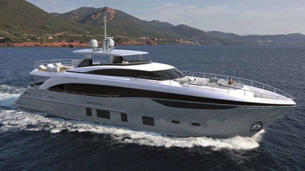 Yacht ANTHEYA III A Princess 35M Superyacht