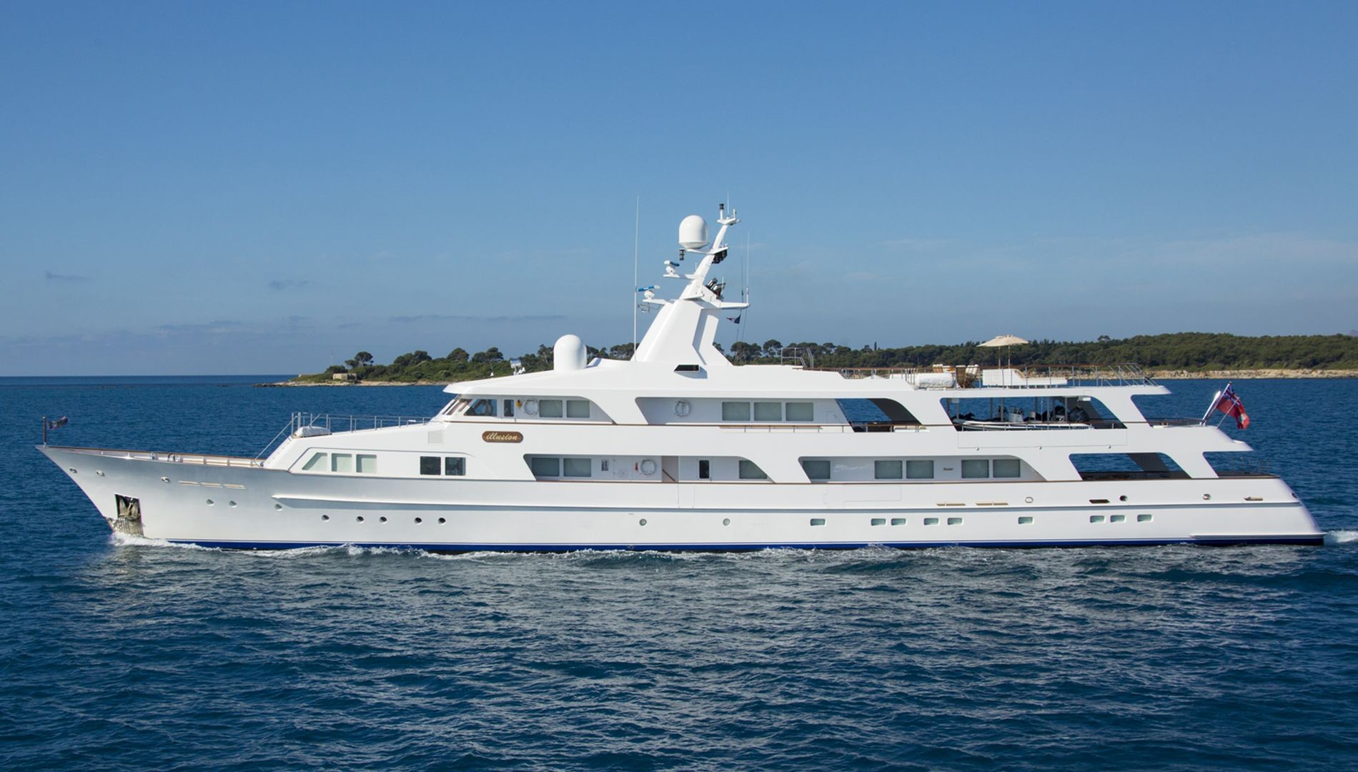 ILLUSION I Yacht Charter Details Feadship CHARTERWORLD