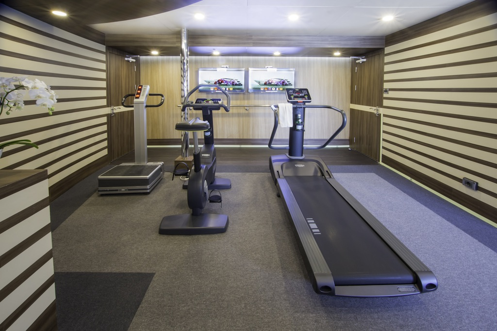 Gym Image Gallery Luxury Yacht Gallery Browser