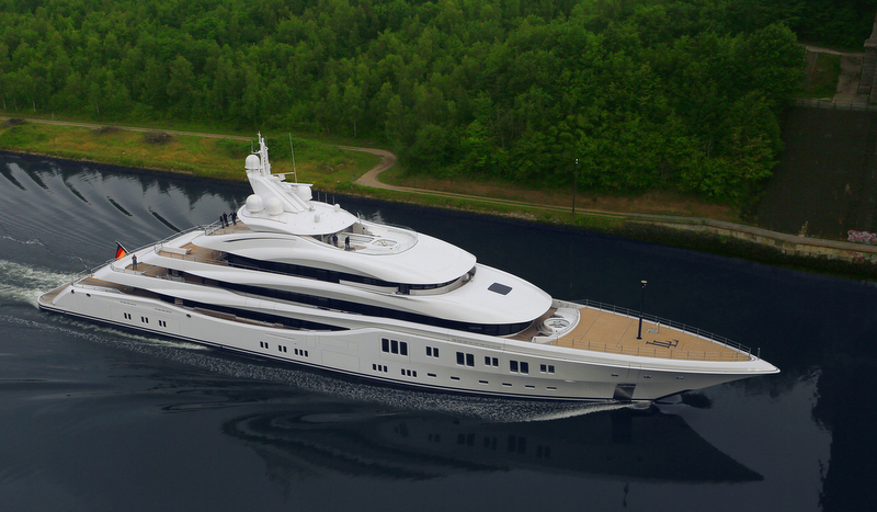 Yacht LADY LARA A Lurssen Superyacht CHARTERWORLD