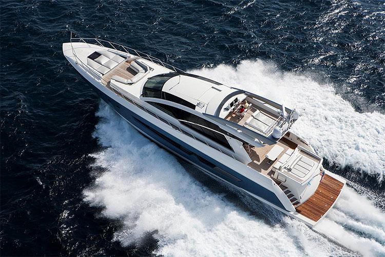 Yacht Alpha 87 Express Sportbridge A Cheoy Lee Superyacht