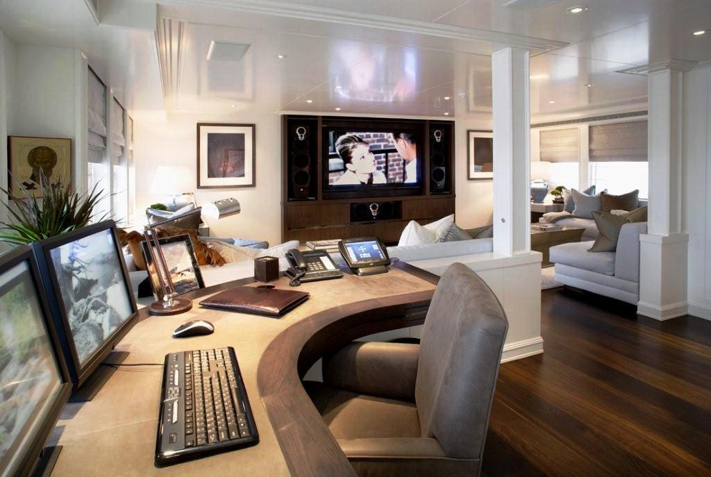 Celestial Hope Media Room Luxury Yacht Browser By CHARTERWORLD Superyacht Charter