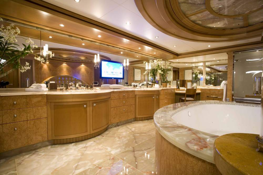 Master Ensuite Image Gallery Luxury Yacht Gallery Browser