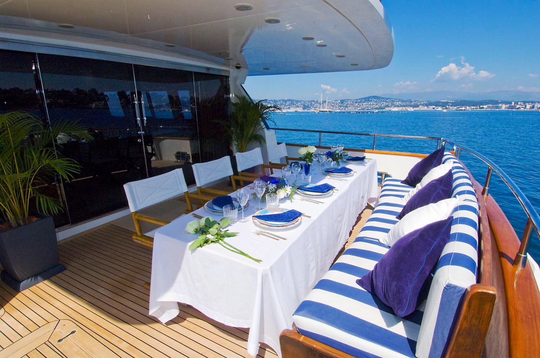 INDULGENCE OF POOLE Yacht Charter Details Mangusta