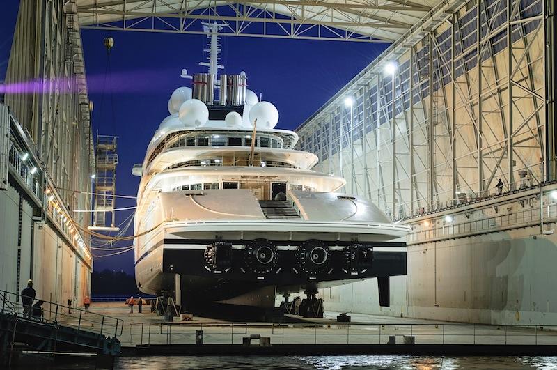 Yacht AZZAM A 180m Lurssen Superyacht CHARTERWORLD