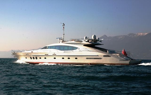 Yacht Palmer Johnson 120 Motor Yacht CHARTERWORLD Luxury Superyacht Charters
