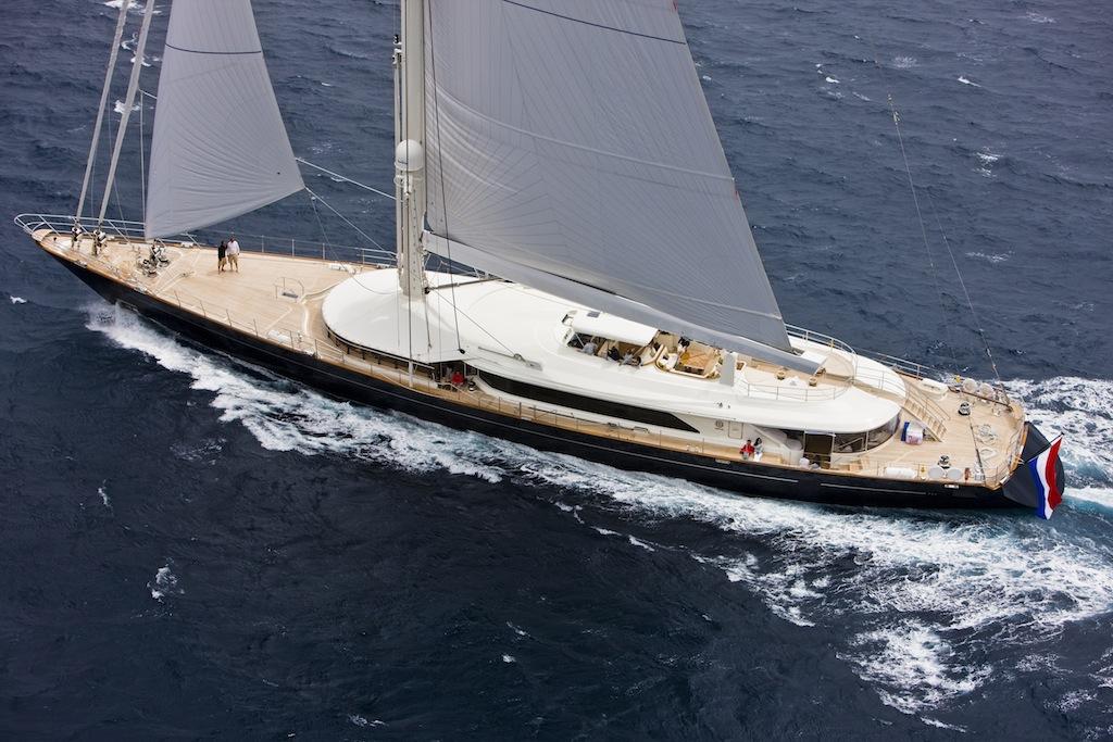 Yacht BAYESIAN A Perini Navi Superyacht CHARTERWORLD