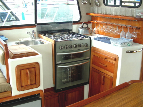 Motor Boat Phoenix Yacht Charter Details New Zealand