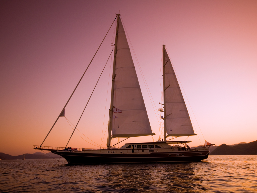 DAIMA Yacht Charter Details Arkin Pruva Turkish Gulet