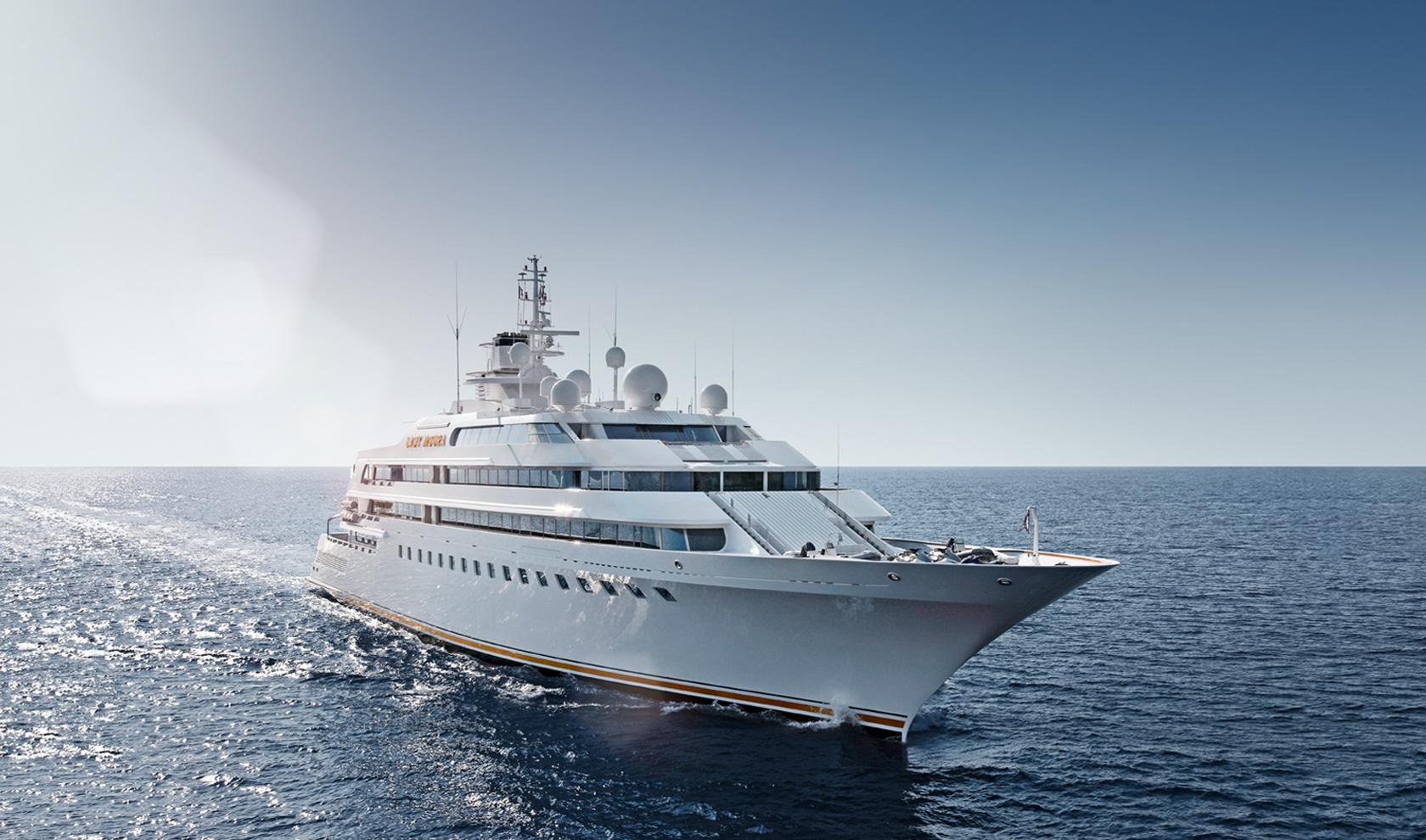 Yacht LADY MOURA A 105m Mega Yacht By Blohm Amp Voss