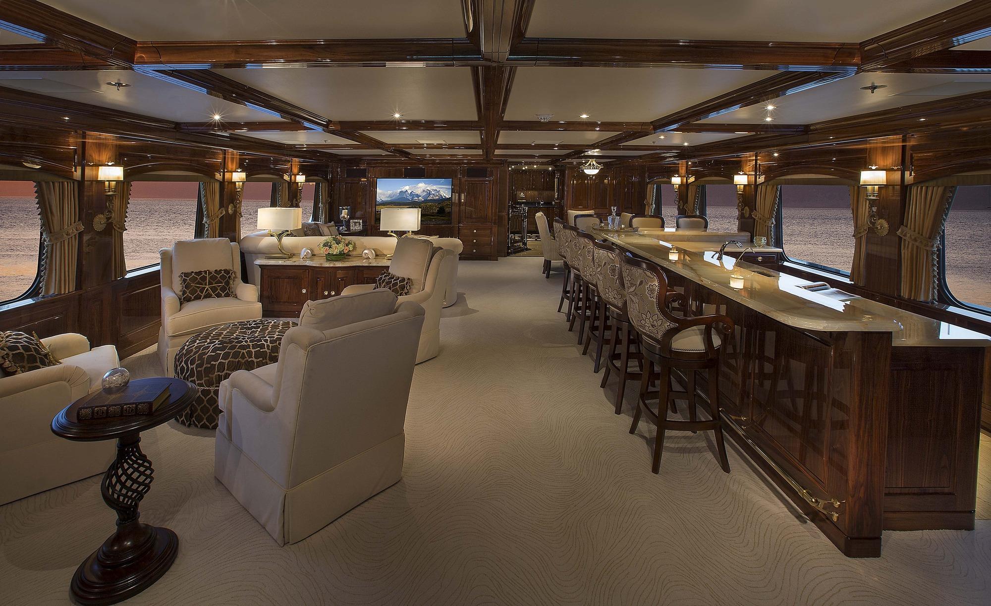 SILVER LINING Yacht Charter Details Christensen Shipyards