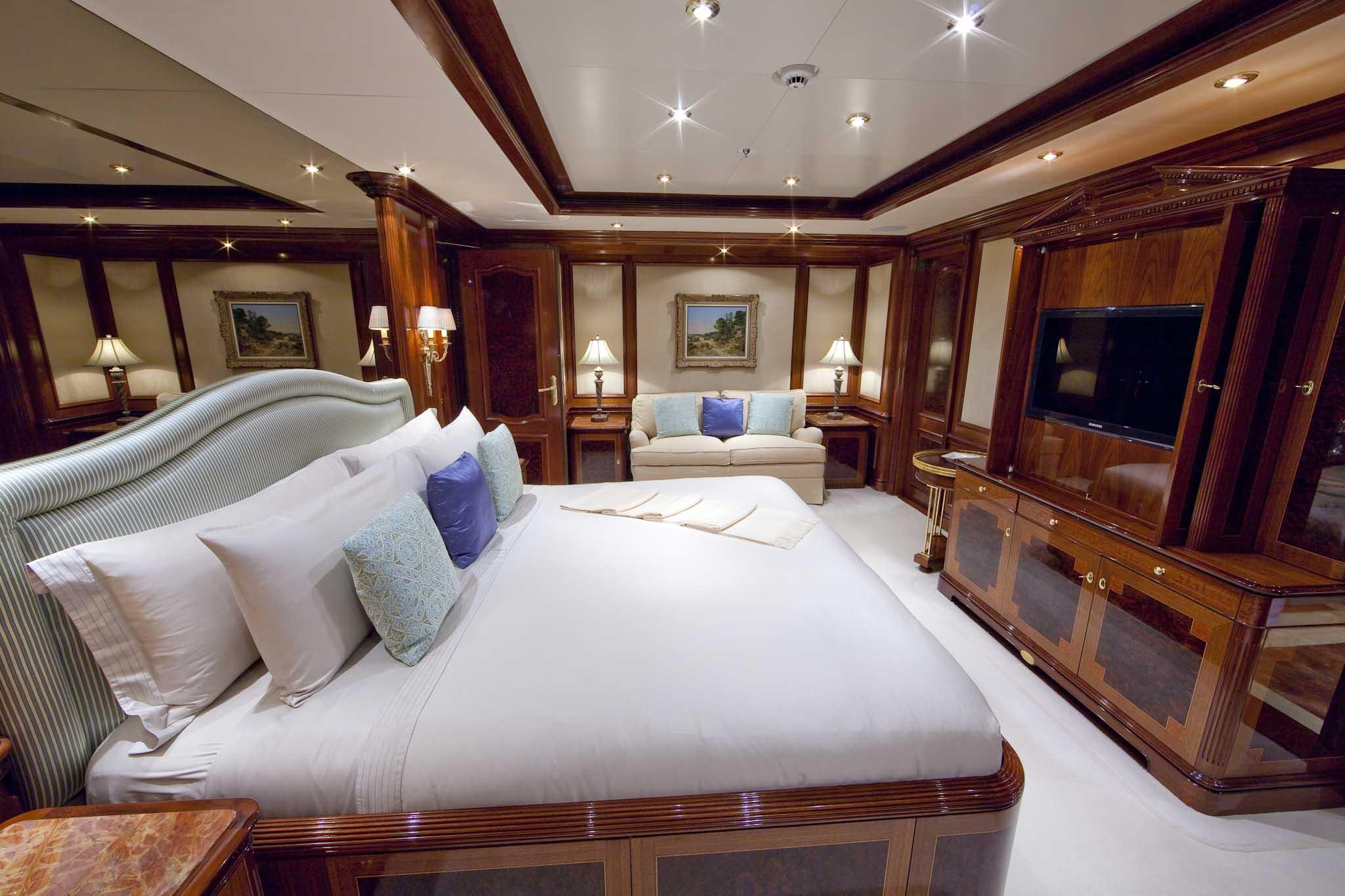 Further Photos Of The Motor Yacht TITANIA Lurssen Yachts