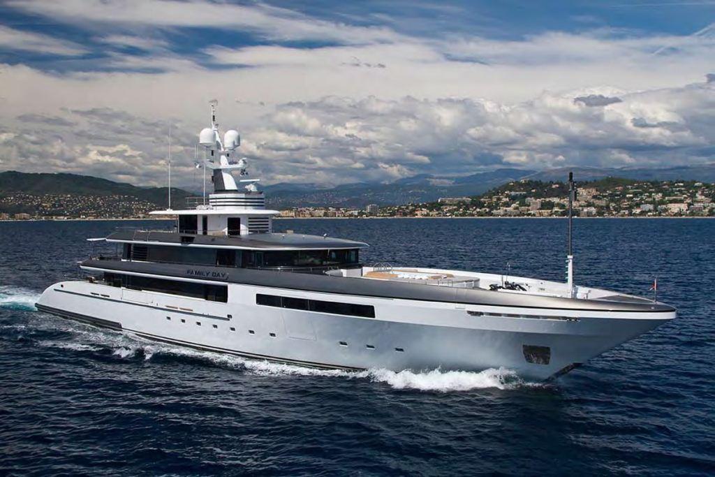 Yacht Eternity Codecasa CHARTERWORLD Luxury Superyacht