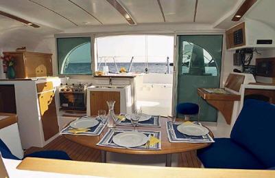 Lagoon 380 Catamaran Yacht Charter Details Florida