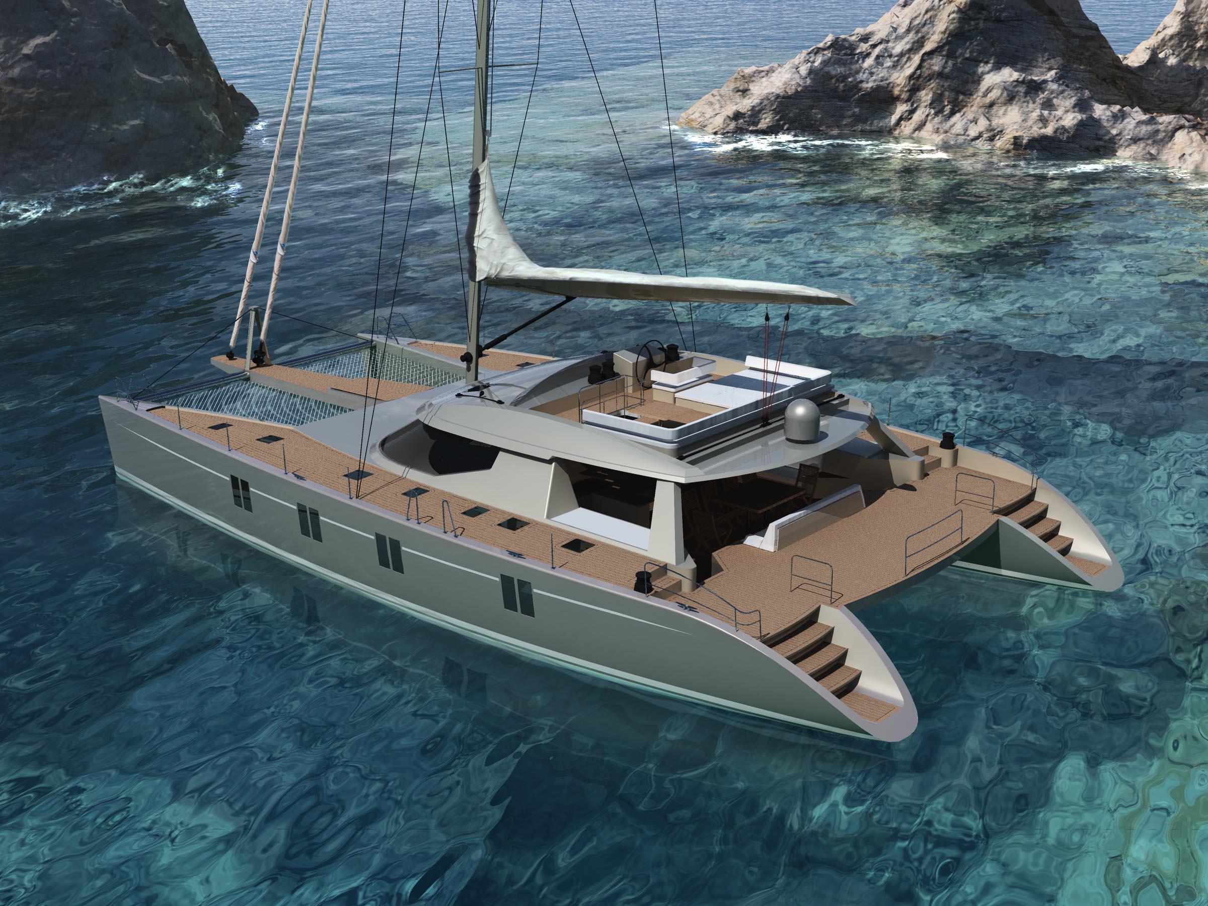 Sailing Catamaran Havana 72 Designed By Berret Racoupeau