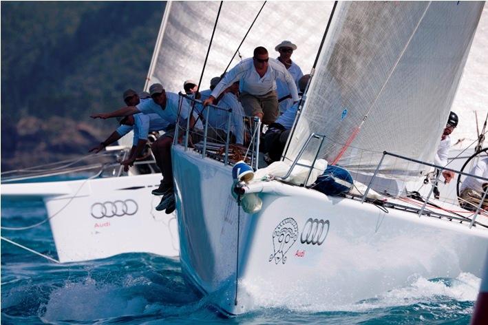 Audi Hamilton Island Race Week 2010 Yacht Charter