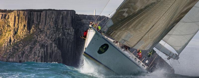 BRINDABELLA Passing Tasman Island Sydney Hobart Yacht
