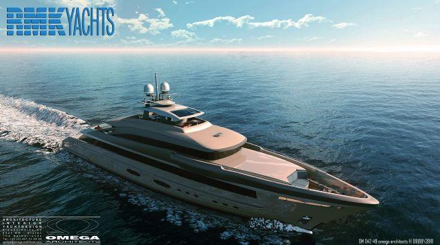 RMK 50 Superyacht design