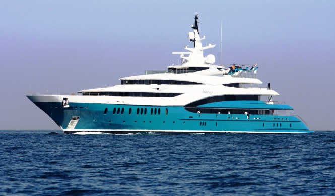 Superyacht SUNRAYS In The Mediterranean Photo By Yacht