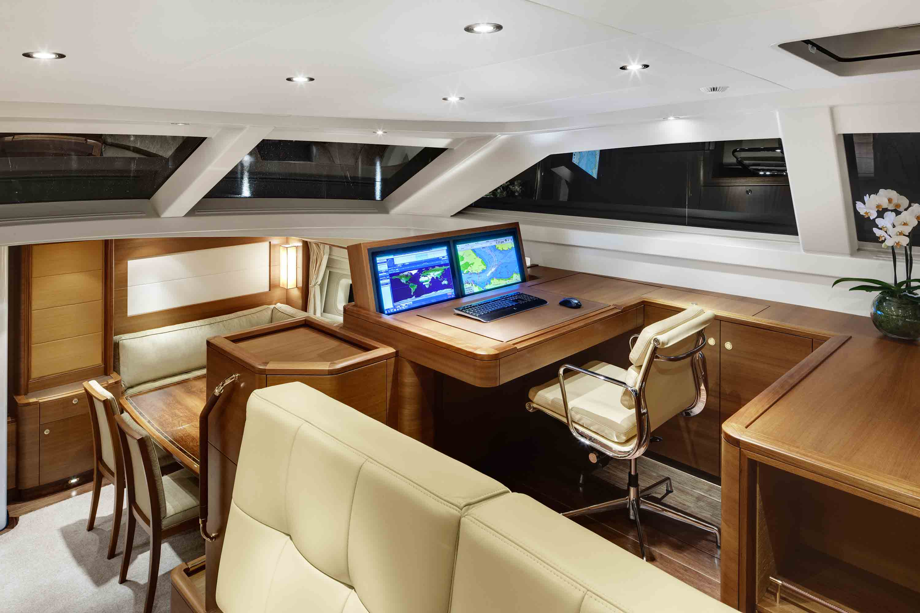 Sailing Yacht Antares III Nav Station Yacht Charter