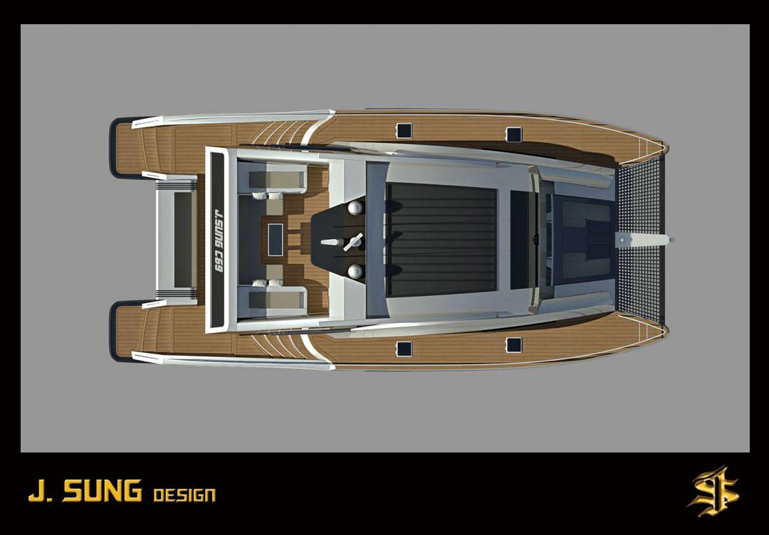 Wooden Power Catamaran Boat Plans Sailing Build Plan Wooden Thing
